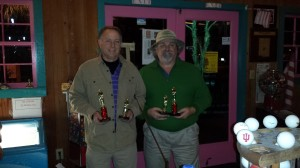 Individual Category-Gary Hester (left) takes 1st and John Powell (right) takes 2nd